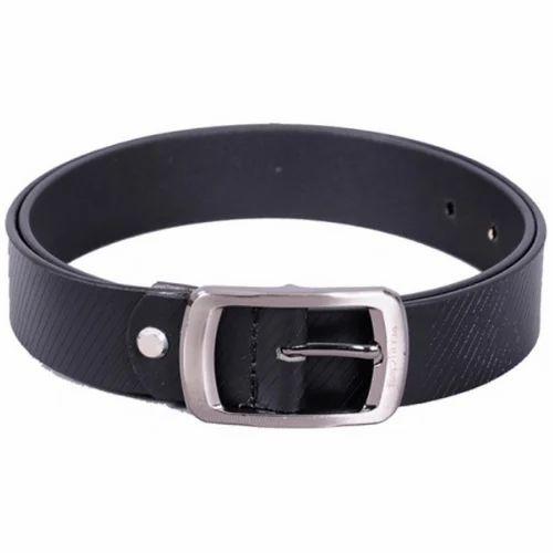 32b53cbcd91 Men Brown Toptima Genuine Leather Belts TP020 Black