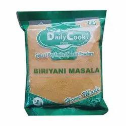 Daily Cook Biryani Masala Powder, Packaging Size: 100 g, Packaging Type: Packets
