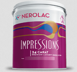 Nerolac Satin Enamel Paint, Packaging Size: 1 Litre