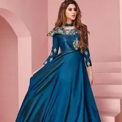 Party Wear Readymade Gown Suit