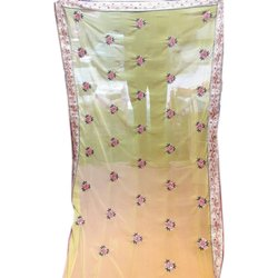 Ladies Festive Wear Chiffon Saree