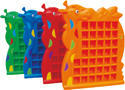 Red And Blue Plastic Giraffe Cup Shelf