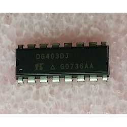 Black Electronic Components