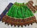 Pure Cotton Mirror Work Navratri Chaniya Choli