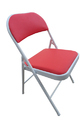 Folding Dining Chair with Cushion