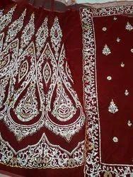 Hand Embroidery Lehangas