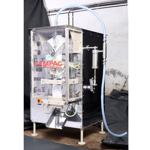 Gempac Electric Milk Packaging Machine, Gp -1000- Ms, Packaging Type: Pouches