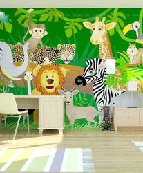 PVC Kids Room 3D Wallpapers