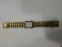 Gold Slim Watch