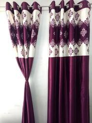 RSTC Door Curtain Royal Touch Pack Of 2 Pc ( Pink Design )