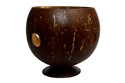 Coconut Shell Candle Holder 3 small
