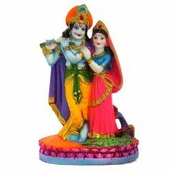 Multicolor Resin God Statue