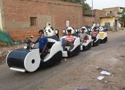 Panda trackless train
