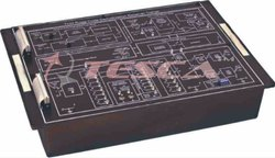 TDM Pulse Code Modulation/Transmitter Trainer