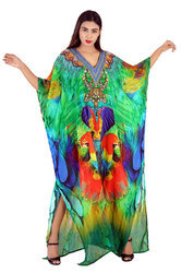 Digital Printed Freesize Kaftan
