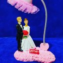 Multicolor Love Couple Showpiece