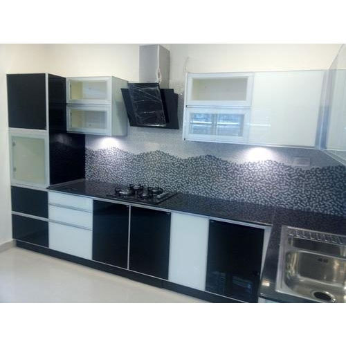 Straight Line Modular Kitchen At Rs 120000 Piece Modular Kitchen