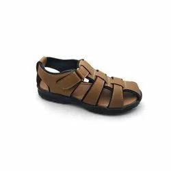 Men Casual PU Leather Sandals