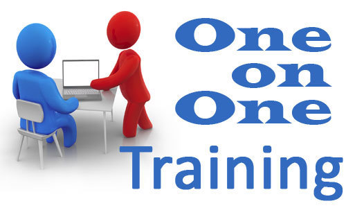 One To One Training On Excel