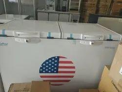 Top Open White Chest Freezer Cum Cooler, Capacity: 300 L