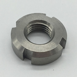 Carbon Steel Bearing Shaft Lock Nut