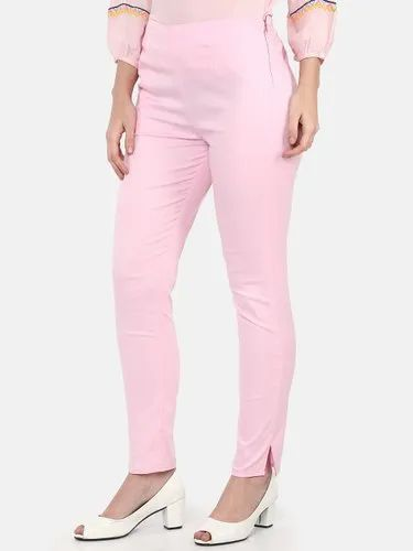 Plain Pleated Pants Regular Fit Women Pink Trousers Rs 479 Piece Id 21697798530 Wear these elite regular fit jeans for women and drive anyone crazy. indiamart
