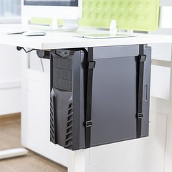Under Desk CPU Mount, For Home And Office