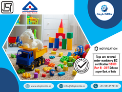 ISI Mark Certification for Toys