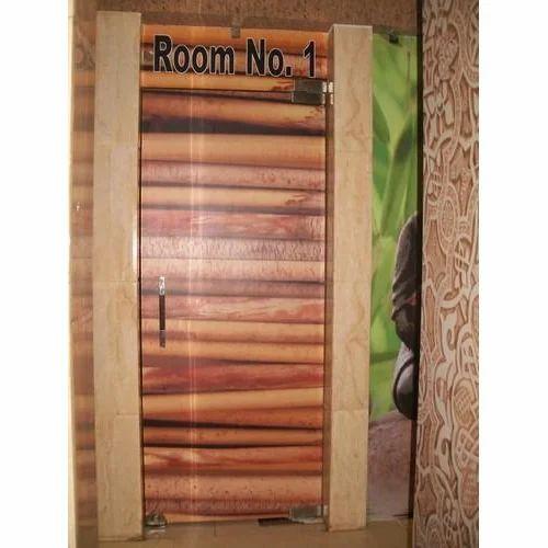 Pvc Bathroom Door Price In Delhi: Vinyl Glass Door Sticker, विनाइल स्टिकर