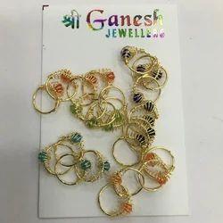 Shree Ganesh Jewellers Ladies Round Earrings