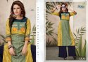 Leaf-Alishka Fashion Rayon Digital Printed Kurti With Palazzo
