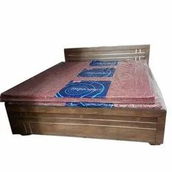 Brown King Bed, For Home, Warranty: 1 Year