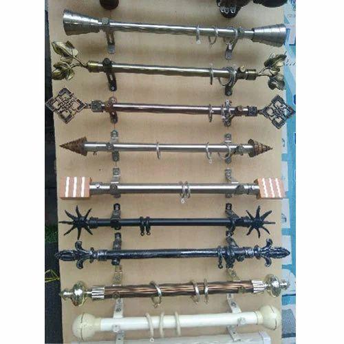 PVC Curtain Rods Rs 65 Feet Star Curtains