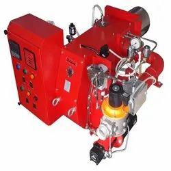 Aluminum Heat Treatment Furnace Dual Fuel Burner