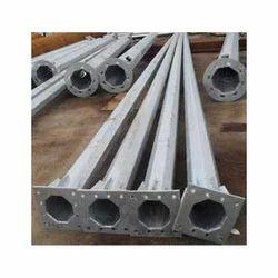 7 MTR Octagonal Galvanized Poles
