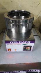 Round Oil Bath