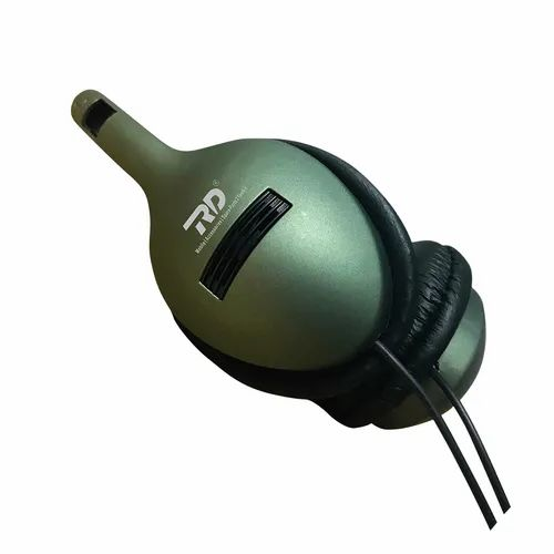 RD Black Wired Headphone, Model Name/Number: Hf-09