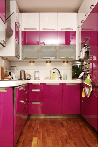 Lacquered Glass Kitchen Cabinet Doors
