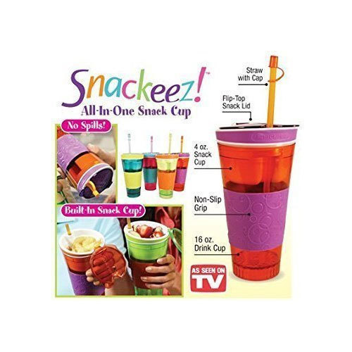 Plastic All In One Snack Cup