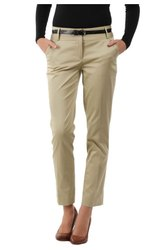 Womens Cotton Organic Causal Trousers