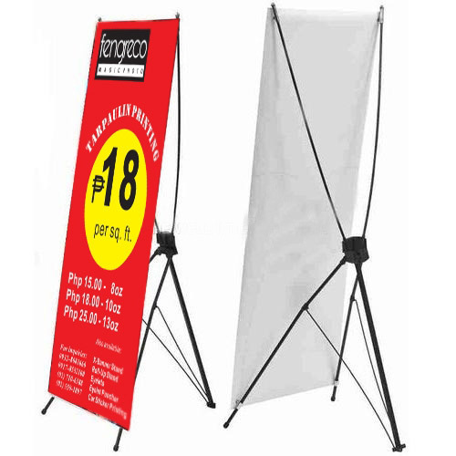X Banner Stand at Rs 475 /piece | X-Frame Banner Stand - Kariez ...