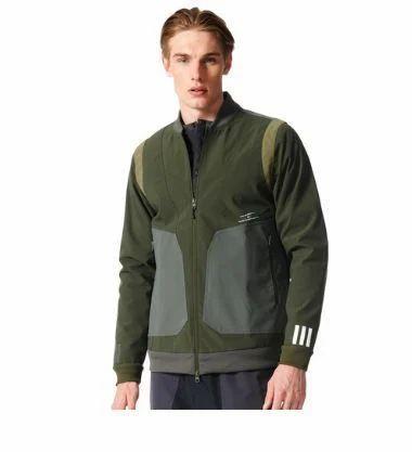 Mens Adidas Originals White Mountaineering Varsity Jacket