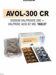 Sodium Valproate 200 & Valproic Acid 87 Mg Tablet