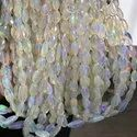 Natural Ethiopian Wel Opal Stone Faceted Oval Beads Gemstone Strand