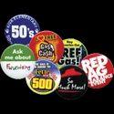 44mm Printed Badges