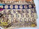 Zari Lace Border Fabric