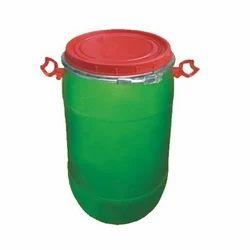 Anirudh Round Full Open Top Drum, Capacity: 150 L