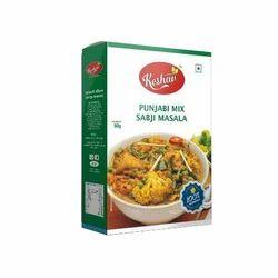 Keshav 50 g Punjabi Mix Sabji Masala, Packaging: Packet