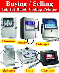Linx Inkjet Batch Coding CIJ Printer - Used / Refurbished