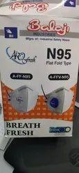 N95 Flat Flod Type Mask